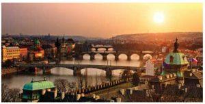 Prague is the Czech Republic's picturesque capital city.