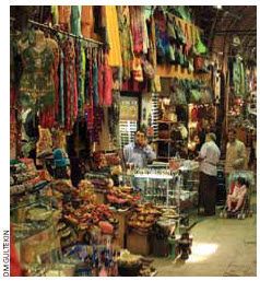One of the 3,000 shops in Istanbul's Grand Bazaar.