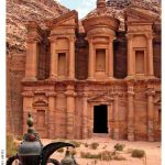 The Monastery (Al Dier) in Petra, Jordan, has a powerful, hypnotic effect on visitors.