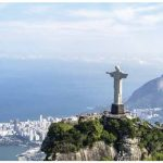 Christ the Redeemer overlooks Rio de Janeiro.