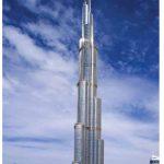 The Burj Khalifa in Dubai, UAE, is the world's tallest building.