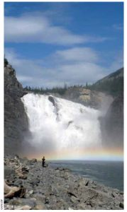 Nahanni National Park's Virginia Falls.
