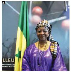 Nancy Ndiaye Ngom, ambassador of Senegal, hosted a national day reception at Ottawa City Hall. (Photo: Ulle Baum)