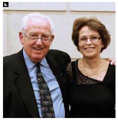 Senate Speaker Noel Kinsella hosted a farewell reception for Israeli Ambassador Miriam Ziv, shown here with Senator David Smith. (Photo: Neil Valois)