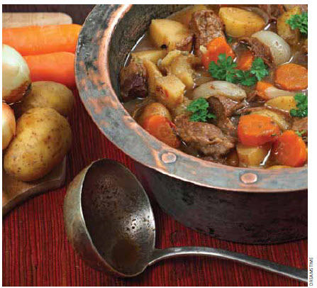 Traditional Irish stew remains renowned in Ireland.