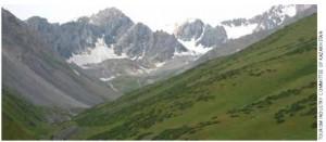 Aksu Zhabagly Nature Reserve in Southern Kazakhstan.