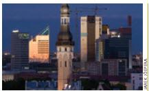 Tallinn's port has world-class facilities.