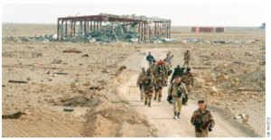This United Nations Special Commission (UNSCOM) inspection team's 1991 mission was the elimination of Iraq's weapons of mass destruction.