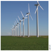 Citizens want access to clean energy as long as the windmills, such as these ones in Texas, aren't in their backyards.