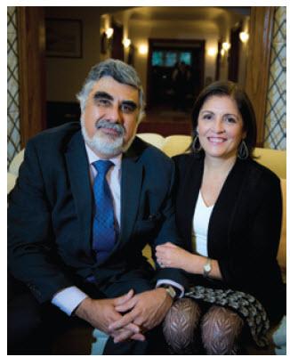 José Antonio Bellina and his wife, Rosa Garcia Rosell