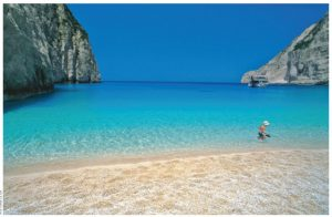Zakynthos, in the Ionian Islands, is known for its beaches where even loggerhead sea turtles can rest.