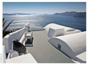 Santorini is one of the most popular wedding and honeymoon destinations in Greece.