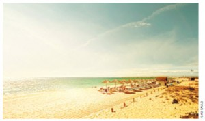 The Algarve is a delight to visit year-round, thanks to its sandy beaches.