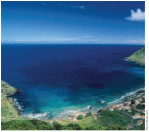 Santa Maria Island the southernmost island in the Azores, is known for its beaches and warm weather.