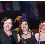 From left, German Ambassador Werner Wnendt, his wife, Eleonore Wnendt-Juber, choir founder Lisette Canton, artistic director, Colleen Woodhouse, and Ian Sabourin at the Ottawa Bach Choir's Venetian Carnival fundraiser. Photo by Sam Garcia