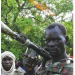 A rebel in northern Central African Republic.