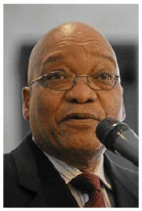 South African President Jacob Zuma is the subject of criticism in his country and abroad. But that doesn't mean he won't be re-elected.