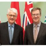 Netherlands Ambassador Cornelis Johannes Kole paid a courtesy call on Mayor Jim Watson. (Photo: City Hall)