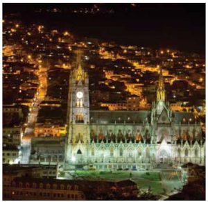 Quito, the capital of Ecuador, is alive with dazzling architecture, culture and night-life.