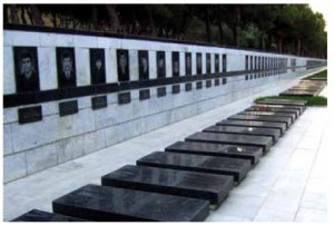 On Jan. 19, 1990, 26,000 Soviet troops stormed Baku. Martyr's Alley, above, honours Azerbaijanis killed in the attack.