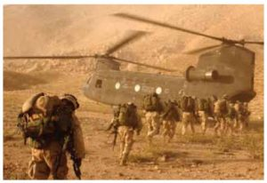 U.S. soldiers participate in Operation Enduring Freedom, the U.S.'s war in Afghanistan.