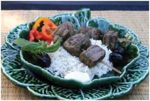 Espetada de Carne (also known as grilled beef skewers)