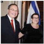 Israeli Ambassador Rafael Barak and his wife Miriam hosted the country's 66th independence day event at the Chateau Laurier May 13. (Photo: Ulle Baum)