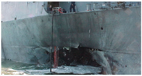 The attack on the USS Cole in the Gulf of Aden near Yemen was one of al-Qaeda's early assaults, dating back to 2000.
