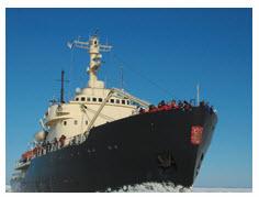 The Finnish-made icebreaker Sampo