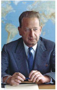 Dag Hammarskjold won the Nobel Peace Prize in 1961.