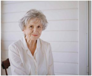 Canadian short-story writer Alice Munro won a Nobel prize for Literature in 2013.