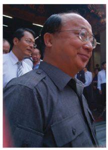 Jason Hu, Taichung's silver-tongued mayor.