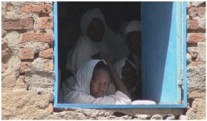 Sudan 2008: In the village of Kortala, our interpreter's home village, at a school another UN observer raised money to expand