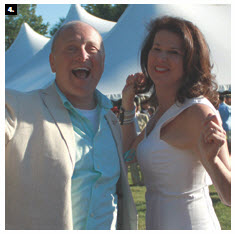 U.S. Ambassador Bruce Heyman and his wife, Vicki, hosted a Fourth of July party at their residence. The couple shared their love of dance with Ottawa. (Photo: Ulle Baum