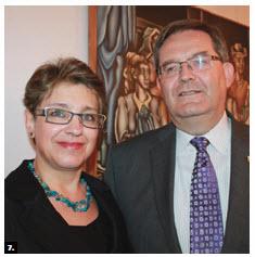 Outgoing Slovakian Ambassador Milan Kollar and his wife, Sona Kollarova, hosted a farewell reception at the embassy. (Photo: Ulle Baum)