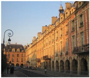 Ambassador Zeller likes to stroll around Place des Vosges in Paris.