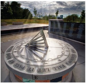 The 329 victims of the Air India bombing — the world's deadliest terrorist act before 9/11 — are remembered at this sundial memorial in Toronto.