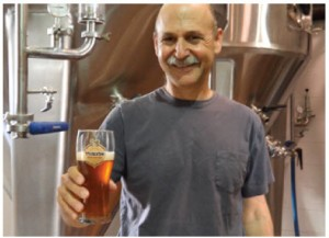 Ori Sagy is the affable brewmaster at Israel's Alexander Brewery.