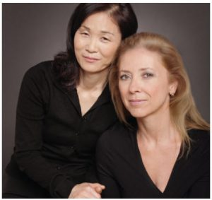 Toronto author Lucia Jang, left, and journalist Susan McClelland wrote Stars between the Sun and Moon.