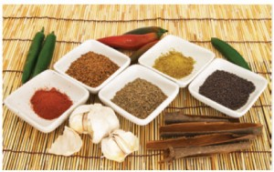 Spices, such as turmeric, paprika, cinnamon and black pepper, are at the heart of Pakistani cooking.