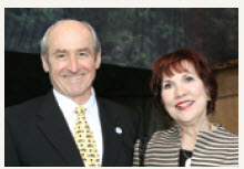 Dawson Hovey, ASF Dinner Chairman, and his wife, Jocelyn