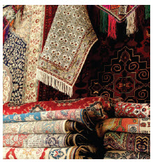 Carpets are among the items Afghanistan currently exports to Canada.