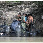 Colombian military forces supervise territories where FARC guerrillas still operate.