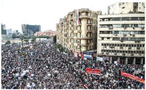 Egypt's protests in Tahrir Square in January 2011 led to a revolutionary shift that was soon overturned by yet another military coup.