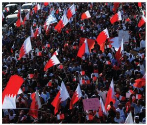After these protests in Bahrain, there was no change in leadership, but now all public opposition has been crushed.