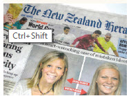 """#6 New Zealand New Zealand, whose newspaper, The New Zealand Herald, is pictured here, is an example of a country renowned for its economic stability. It's also a country that guarantees media freedom """"in a durable manner,"""" according to the 2015 Press Freedom Index."""