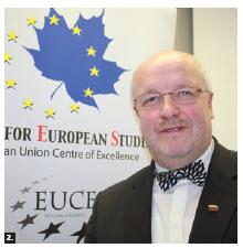 Lithuanian Defence Minister Juozas Olekas spoke at Carleton University. (Photo: Ülle Baum)