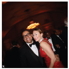 Julio Alejandro Rodriguez Velez, counsellor at the embassy of the Dominican Republic and his wife, Natalia Cacho, took to the dance floor at the Ottawa Diplomatic Association's annual ball. (Photo: Ülle Baum)