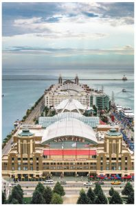Chicago's Navy Pier is one of the Windy City's premier historic landmarks. (Photo: Banpei)