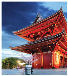 Sensoji-ji Temple is the oldest temple in Tokyo, dating back to 628 BC. (Photo: © Tomas1111 | Dreamstime.com)